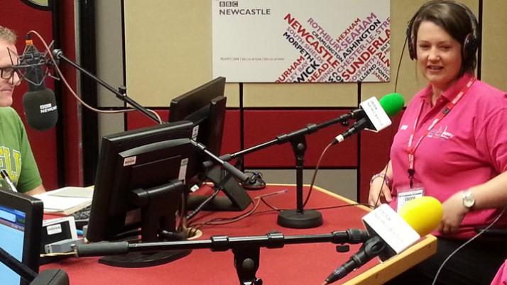 Were on BBC Newcastle
